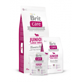 Brit Care Junior Large Breed Lamb & Rice koeratoit 12kg