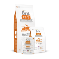 Brit Care Adult Medium Breed Lamb & Rice koeratoit 12kg