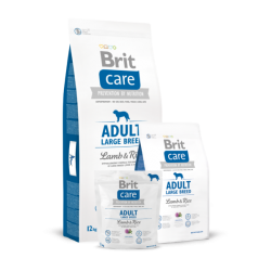 Brit Care Adult Large Breed Lamb & Rice koeratoit 12kg