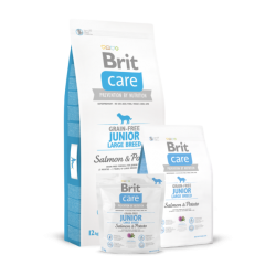 Brit Care Junior Large Breed Salmon & Potato koeratoit 12kg