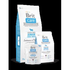 Brit Care Junior Large Breed Salmon & Potato koeratoit 12kg