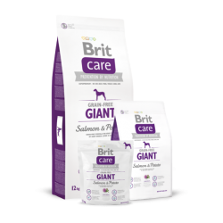 Brit Care Giant Salmon & Potato koeratoit 12kg