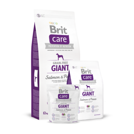 Brit Care GIANT SALMON & POTATO