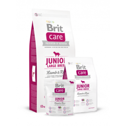 Brit Care Junior Large Breed Lamb & Rice koeratoit 3kg