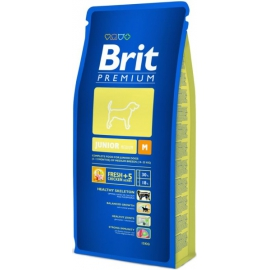 Brit Premium Junior Medium koeratoit 15kg