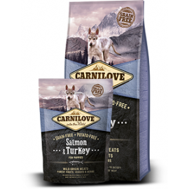 CARNILOVE Salmon & Turkey for Puppies koeratoit 12kg