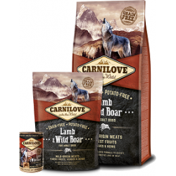 CARNILOVE Lamb & Wild Boar Adult koeratoit 12kg
