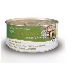 Applaws konserv tuunikala ja vetikaga želees täiskasvanud kassidele 24x70g