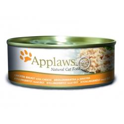 Applaws kana ja juustuga konserv kassidele 24x156g