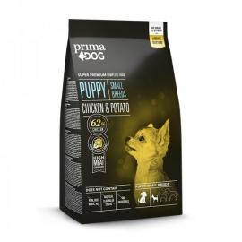 Prima Dog täistoit kana-kartuli väikest tõugu kutsikatele 4kg