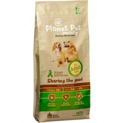 Planet Pet Society koeratoit kana-riisi Adult 15kg