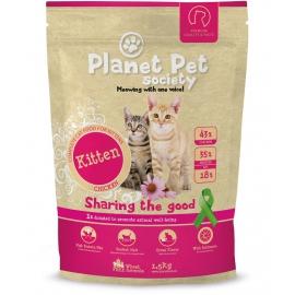 Planet Pet Society kassitoit (kitten) kassipoegadele kanaga 3kg