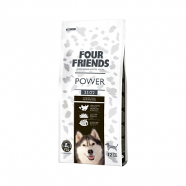 Four Friends koeratoit Power kana & riis 12kg
