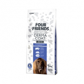 Four Friends koeratoit Derma Coat lõhe & kartul 12kg