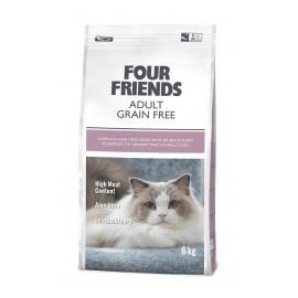 Four Friends kassitoit Grain Free Adult Duck & Turkey 6kg