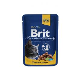 Brit Premium kassikonserv Chicken & Turkey 24x100g