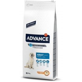 ADVANCE koeratoit Maxi Adult Chicken & Rise 14kg + 4kg