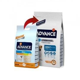 ADVANCE koeratoit Mini Adult Chicken & Rice 3kg