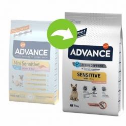 Advance koeratoit Mini Sensitive Salmon & Rice 7,5kg
