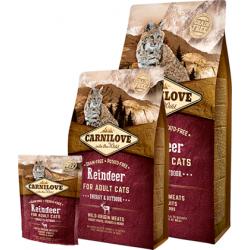 Carnilove Reindeer Energy & Outdoor kassitoit 2kg