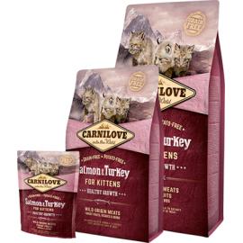 Carnilove Salmon & Turkey Kitten kassitoit 2kg