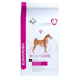 Eukanuba Sensitive Digestion koeratoit 12,5kg
