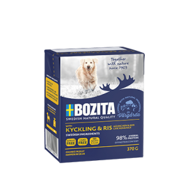 Bozita koeratoit Chicken & Rice 6x370g
