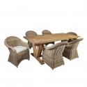 Söögilauakomplekt KATALINA 6-tooliga