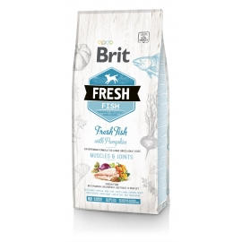 Brit FRESH koeratoit Fish & Pumpkin for Large Breed Adult 2,5kg