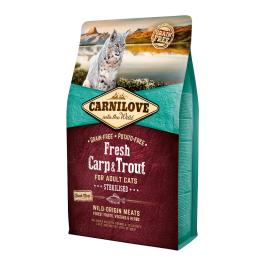 Carnilove FRESH Carp & Trout for Adult Cats - Sterilised 2kg