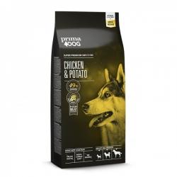 Prima Dog täistoit kana-kartuli kõikidele täiskasvanud koertele 20kg