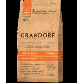 Grandorf Dog - Lammas ja pruun riis 3kg - Junior koeratoit