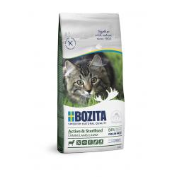Bozita Active & Sterilised Grain Free Lamb kassitoit 2kg