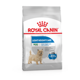 Royal Canin Mini Light 8kg koeratoit