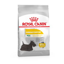 Royal Canin Mini Dermacomfort 2x1kg koeratoit