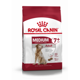 Royal Canin Medium Adult 7+ 4kg koeratoit