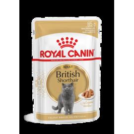 Royal Canin FBN BRITISH SHORTHAIR WET kassitoit 12x85g