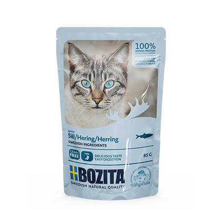 BOZITA HEERINGA TÜKID KASTMES kassi täissööt 12x85g