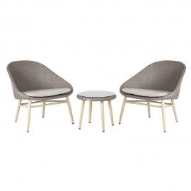 Rõdukomplekt CALI laud ja 2 tooli